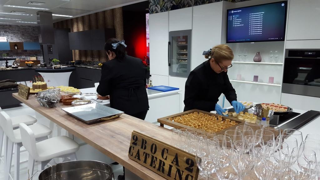 Inauguraci n de the singular kitchen catering bodas - Singular kitchen opiniones ...